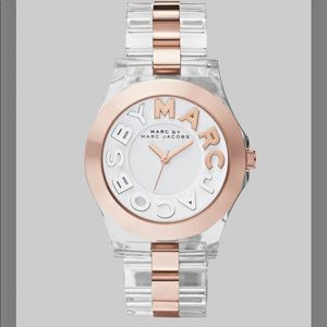 🆕 Marc Jacobs Clear Band Watch